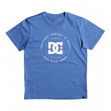 CAMISETA NIÑO DC SHOES REBUILT AZUL