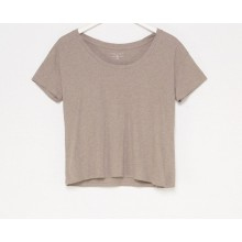 CAMISETA W FRIDAY'S PROJECT CUELLO MARRON