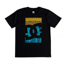 CAMISETA NIÑO DC SHOES CITY SKY NEGRO