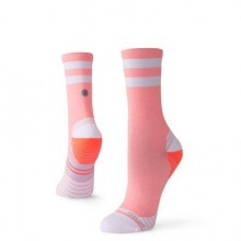 CALCETÍN STANCE RUN UNCOMMON SOLID CORAL