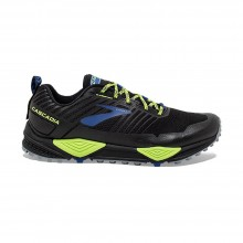 ZAPATILLAS BROOKS CASCADIA 13 BLACK/NIGHTLIFE/BLUE