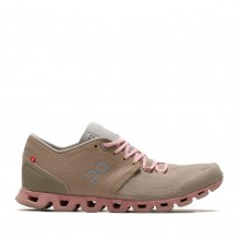 ZAPATILLAS ON RUNNING MUJER CLOUD X SAND ROSE