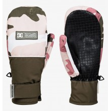 MANOPLAS W DC SHOES FRANCHISE VINTAGE ROSA/CAMO