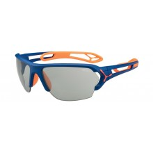 GAFAS CEBE S-TRACK LARGE MATT BLUE-ORANGE